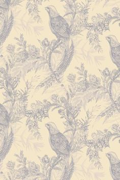 wall covering - pheasant