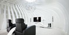 Samsung Human Resource development institute (Korea) / Bright white (BW010) Showroom wall, exhibition structure, furniture  Samsung Human...