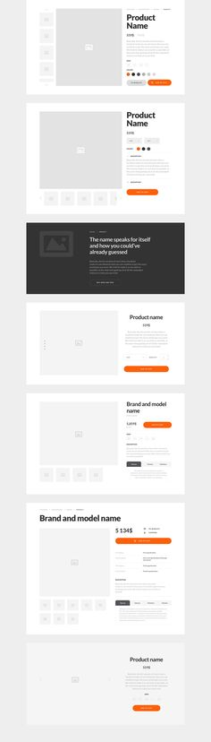 Basement Ecommerce Wireframe Kit