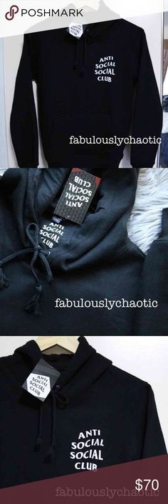 Brand New ASSC 2XL Men's Hoodie Brand new with original tags!  Tag says size 3XL, but fits more like 2XL  100% AUTHENTIC ✨   Tags: Kylie, Jeffree, Kat Von D, Nike, Tommy Hilfiger, Adidas, Brandy Melville, Yeezy, Yeezus, Kanye West, Urban Decay, Urban Outfitters, Vlone, Friends, Vetements, Thrasher, Palace, Supreme, Anti Social Social Club, ASSC Sweaters