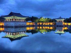 Nightscapes of Weolji in Gyoungju, Korea  경주 월지 야경