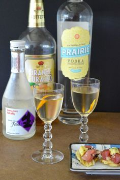TThis Sakitini - Sake Martini is a refreshing, thirst quenching cocktail that is great with any light dish you are serving or perfect alone after a long hot day in the sun! http://www.westviamidwest.com
