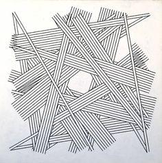 Kenneth Martin Chance, Order, Change 6 (Black) 1978–9