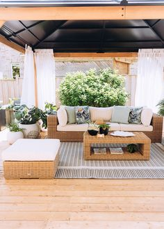 I'm so excited to finally share our Outdoor Rooms, Outdoor Dining, Outdoor Gardens, Outdoor Chairs, Outdoor Furniture Sets, Outdoor Decor, Backyard Gazebo, Patio, Bucket Chairs