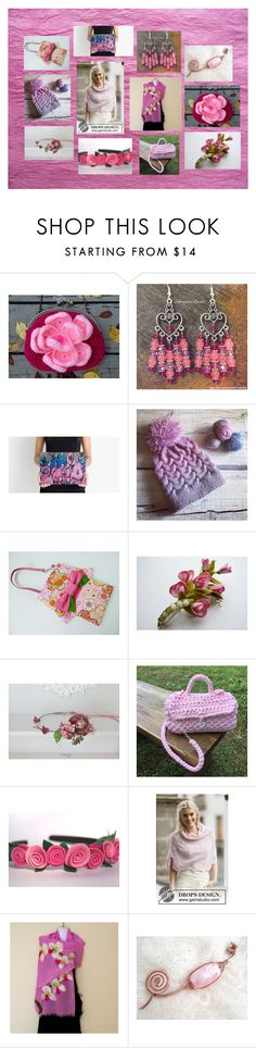 """""""Rose Petals: Unique Fashion Accessories"""" by polinakaranda ❤ liked on Polyvore"""