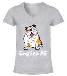 Divertido Bulldog Ingl/és Perro Mam/á Perro Amor Regalos Camiseta