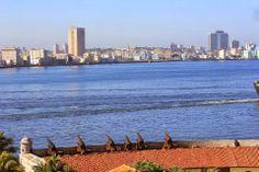 Havana bay viewed from Morro Castle