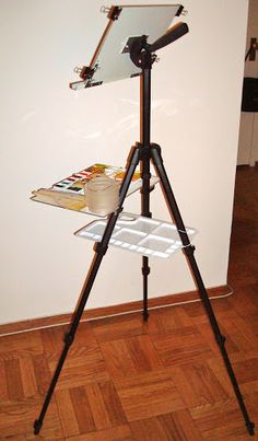 Image result for OUTDOOR DRAWING EASEL DIY