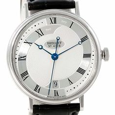 Breguet Classique automatic-self-wind silver mens Watch 5197BB/15/986 (Certified Pre-owned) Check https://www.carrywatches.com Breguet Classique automatic-self-wind silver mens Watch 5197BB/15/986 (Certified Pre-owned)