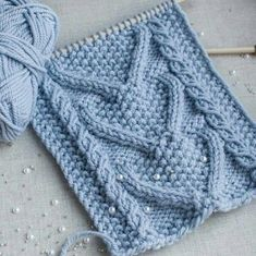 42 Ideas knitting scarf cable libraries for 2019 Cable Knitting Patterns, Knitting Stiches, Lace Knitting, Diy Crafts Knitting, Diy Crafts Crochet, Tricot D'art, Cardigan Au Crochet, Knitted Headband, Bunny
