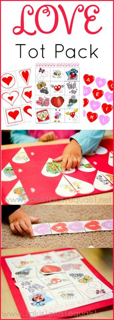 Valentine's Day Printables for Tots and Preschoolers