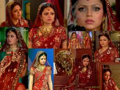 I have seen a lot of beautiful,most beautiful sarees and Hindi clothes in serials and Hindi movies,but this is my most favorite one,I absolutely love this wedding saree,it's absolutely beautiful,can't find the words to describe how much I like it! Madhubala Ek Ishq Ek Junoon