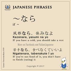 Valiant Japanese Language School < IG/FB - @ValiantJapanese > Japanese Phrases   Lower Intermediate 019