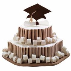 Treat the graduate to an Honor Roll Scroll Cake.