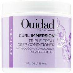 Curl Immersion Triple Treat Deep Conditioner 12 oz