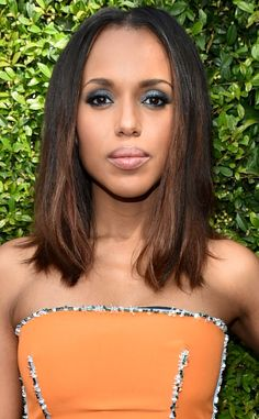 Kerry Washington arrives at the 2015 Primetime Emmys.