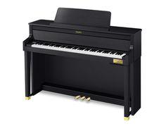 Yamaha Clavinova Home Piano in Polished Ebony - Andertons Music Co.