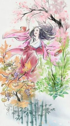 Filme: O conto da princesa Kaguya