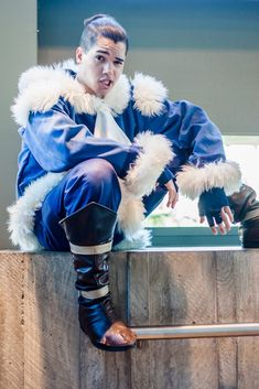 Perfect Sokka cosplay