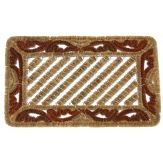 """""""Aragon"""" Decorative Scraper Mat - 18"""" x 30"""" Outdoor Coco Door Mat by Rubber-Cal. $44.90. 18"""" x 30"""" inch shoe scraper mat a touch of entryway color. Coconut doormat made with 100% natural coco fiber for eco-conscious buyers. Shake, brush or vacuum coco door mats for easy cleaning. Red natural coir mat accents any home or garden decor. Eco-friendly coir doormats for """"green"""" households to keep interior floors clean. This red 18"""" x 30"""" shoe scraper mat will bring a touch of colo..."""