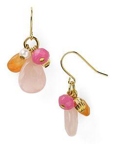 Lauren Ralph Lauren Beaded Cluster Earrings ha ha - I can make these