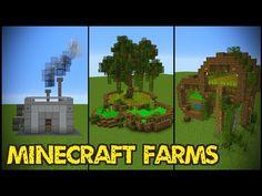 11 Minecraft Farm Designs! - Minecraft Servers View