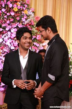 Vijay at GV Prakash And Saindhavi Reception