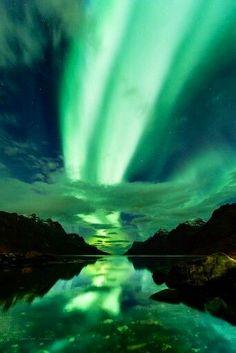 Alaska - il cielo colorato dall'aurora boreale