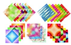 Aitoh Assorted Pattern Origami Paper, 5-7/8 X 5-7/8 in, Assorted Color, Pack of 184 #mycdwishlist