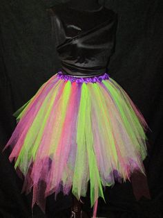 Spicy Mix Tutu Skirt Fairy Costume Makeup, Fairy Costumes, Theatre Costumes, Pirate Tutu, How To Make Tutu, Diy Tutu, Unicorn Costume, Tutu Skirts, Little My