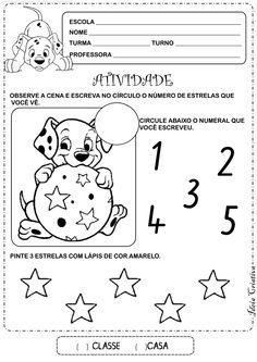 Atividade Matemática Educação Infantil Número e Quantidade