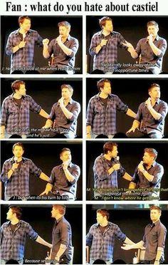 Jensen and Misha: