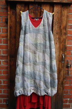 Kombination Lityarn 100% Linen Venne colcoton unikat 32/2 ein swing-gestricktes Kleid Hand Knitting, Knitting Patterns, Mittens, The Row, Tank Tops, Tunics, Shawl, Skirts, Jackets