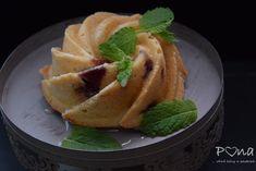 Citrónovo-borůvkové bábovičky Pancakes, Breakfast, Food, Lemon, Morning Coffee, Essen, Pancake, Meals, Yemek