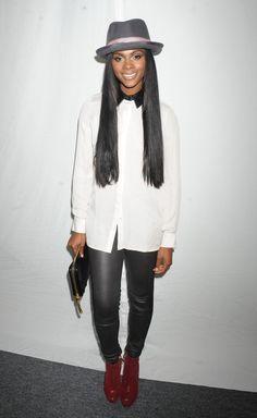 Tika sumpter | Tika Sumpter Tika Sumpter at Spring 2013 Mercedes-Benz Fashion Week at ...