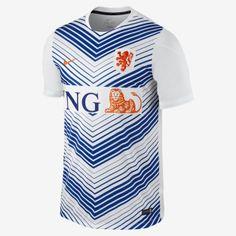 Netherlands Squad Pre-Match Men's Soccer Jersey