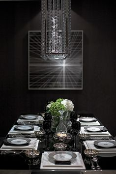 STEVE LEUNG DESIGNERS - Project Pages What a somber sexy dinning room hahahaha