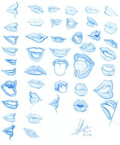 drawing lips cartoon step by step & drawing lips cartoon . drawing lips cartoon step by step . Pencil Art Drawings, Art Drawings Sketches, Cool Drawings, Mouth Drawing, Drawing Lips, Drawing Faces, Lips Cartoon, Cartoon Makeup, Drawing Expressions