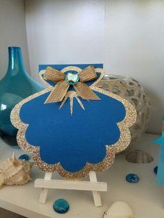 Beautiful Invitation...theme under the sea