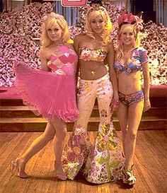 """""""You totally ripped off my Malibu Barbie costume! Nuh uh I'm Disco Barbie...and I'm Evening Wear Barbie!"""" -Never Been Kissed"""