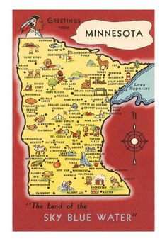 27 Best Maps of Minnesota images