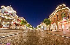 Walkin' Right Down The Middle Of Main Street, USA!