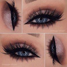 Makeup on fleek be like -xoxo