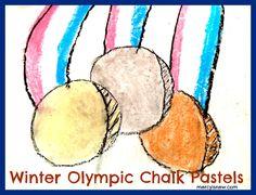 Winter Olympics Chalk Pastels!