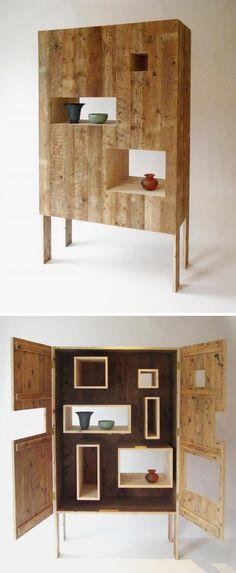 Raveal cabinet; Studiomama.