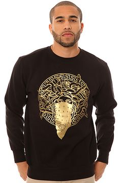 The Primo Sweatshirt in Black by Crooks and Castles
