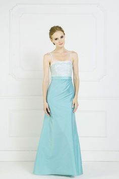 The Winter Blues.....Wintry blue bridesmaids dresses by Kelsey Rose. Style 50011.