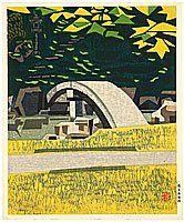 Okiie Hashimoto - Garten im frühen Herbst