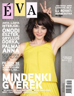 Éva május / May issue 2015 T Shirts For Women, Cover, Bebe