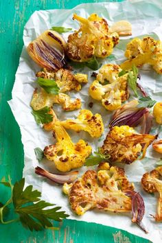 Roasted Garlic Cauliflower, #Dukan diet Cruise Phase (just use low fat cheese instead)